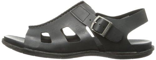 Noir Sandales Chaussures Loisirs Keen en Courroie Cuir alman Homme Noir Sandal d'été A0RRnqPZO