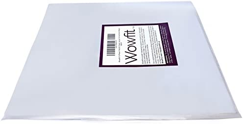 Wowfit Cello Bags,10 CT 18x30 inches Clear Cellophane Bags Perfect for Gift Baskets, Presents, Weddings, Bridal/Baby Showers and More (1.2 Mil, Flat, No Gusset, 18x30 inches, Not come with Ribbon)