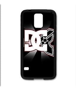 Samsung Galaxy S5 SV Black Rubber Silicone Case - DC Famous Stars Straps Logo Cool
