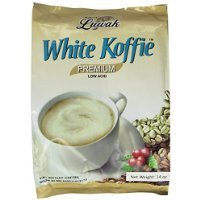 - LUWAK White Koffie LOW ACID (3in1) Instant Coffee 13.5oz, Pack of 20 sachets