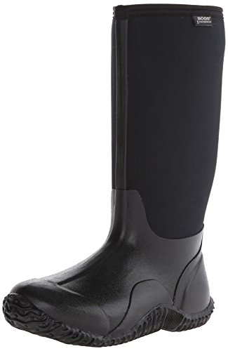 Bogs Women's Classic High Waterproof Insulated Boot, Black,8 M US by Bogs
