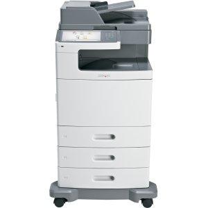 Lexmark X792DTE Laser Multifunction Printer - Color - Plain Paper Print - Floor Standing. X792DTE CLR LASER P/S/C/F USB 1024MB 50PPM CUST PAYS FRT CL-MFP. Printer, Scanner, Copier, Fax - 50ppm Mono/50ppm Color Print - 2400 x 600dpi Print - 50cpm Mono/50cp