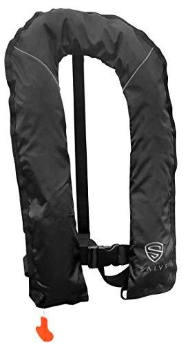 SALVS Automatic/Manual Inflatable Life Jacket for Adults | PFD for Kayak, Fishing, Sailing | Life Vest for Men & Women | Floatation Swim Vest (Best Inflatable Life Vest For Fishing)