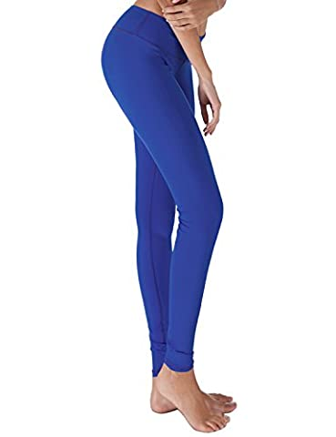 Yogareflex - Yoga Pants for Women - Sports Yoga Leggings Pant - Hidden Pocket (From XS to 3XL) , BLUE , (Track Phone Covers)