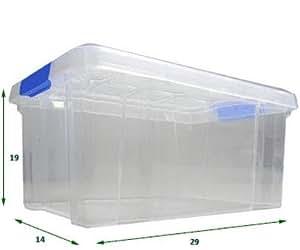 Caja de plastico 5l hogar - Caja almacenaje plastico ...