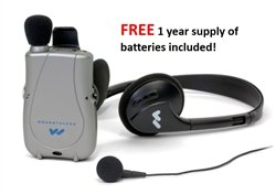 FREE Year Supply of Batteries! Williams Sound PockeTalker Ultra DUO