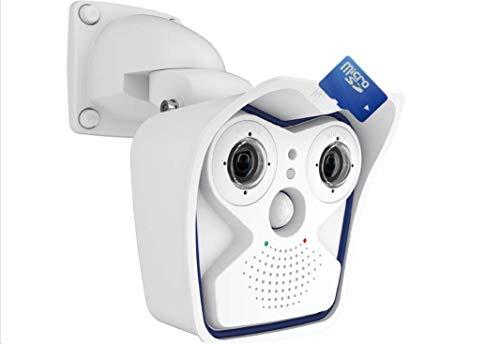 MOBOTIX MX-M15D-SEC DUAL-LENS IP Outdoor Camera, 6 MP Resolution, Moon-Light Sensor, Professional Software, Video Analytics - Body Only - Lens Not - Camera Ip Mobotix