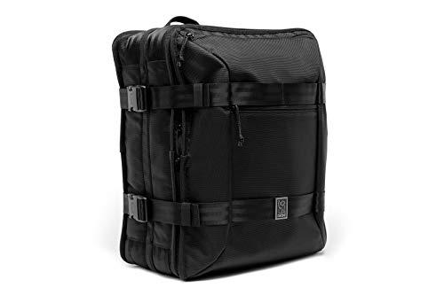 Chrome Macheto Travel Pack Small Suitcase 3 Way Carry 48 Liter Black