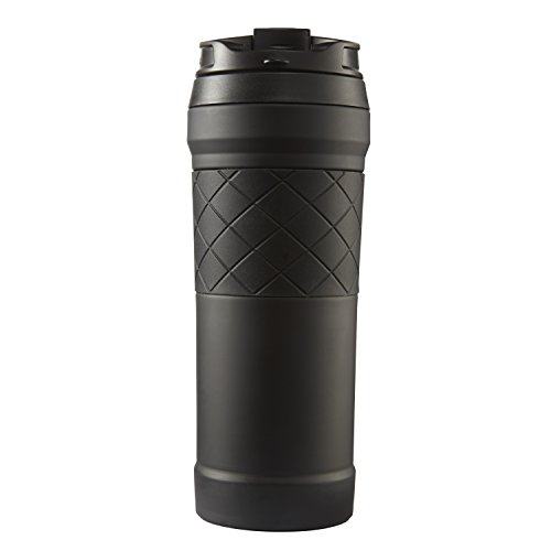 Bubba HERO Elite hoover Insulated Stainless stainless steel vacation Mug utilizing TasteGuard 16 oz Black Commuter vacation Mugs