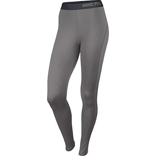 Nike Pro Hyperwarm 3.0 - Mallas para mujer gris