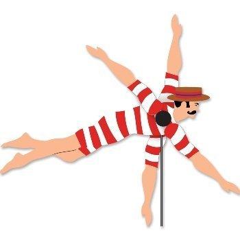 Whirligig Spinner - Victorian Swimmer by Premier Kites