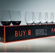 (Riedel O Stemless Cabernet/Merlot Wine Glass, Set of)