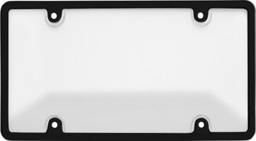 Cruiser Accessories 62051 Tuf Bubble Novelty / License Plate Shield and Frame, Clear and Black (License Plate Frame Black Clear compare prices)