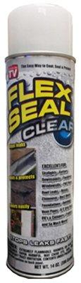 Swift Response FSCL20 Flex Seal Liquid Rubber Sealant Coating, Clear, 14-oz.