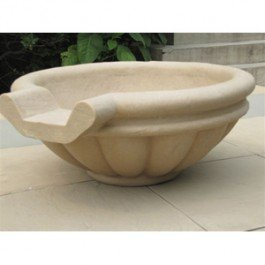 qualarc-kutstone-crushed-stone-roman-patio-garden-scupper-for-fountains-24-speckled-granite