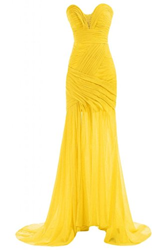 Sunvary da Pageant da Party Gowns Dress donna Daffodil Sweetheart sera per abiti Chic collo ztwqz0rxR