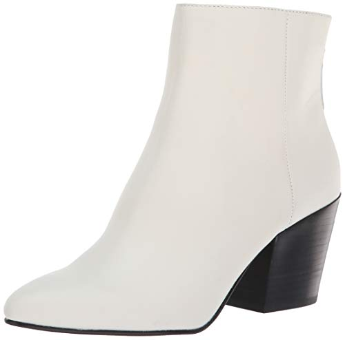 Dolce Vita Women's Coltyn Ankle Boot Off White Leather