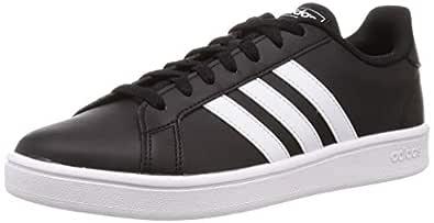 adidas Grand Court Base Men's Sneakers, Black, 8.5 UK (42 2/3 EU)