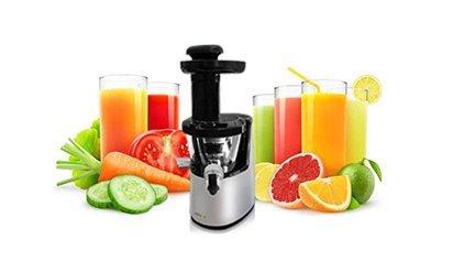 juissen Extractor de zumo de frutas y verduras sistema completo a ...
