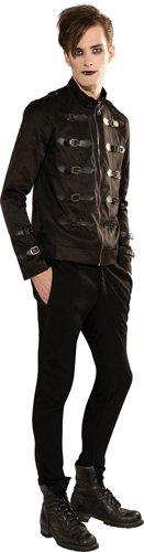 Rubie's Costume Bloodline Men's Gothic Short Jacket, Black, X-large Costume (Gothic Costumes Men)