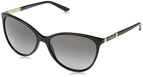 Versace Ve 4260 gb1/11 Black/Grey Sunglasses - Versace Black Shades