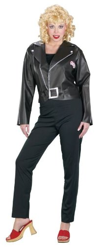 Grease 2 Costume (Adult Grease Cool Sandy Costume - Small 2-8)