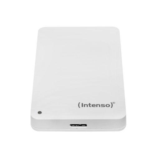 Intenso Memory Case 500 GB Externe Festplatte (6,35 cm (2,5 Zoll) 5400 U/min, USB 3.0) weiß