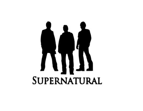 Supernatural Winchester Brothers Trio Halloween Horror Vinyl Decal Bumper Computer Sticker Cling Scary -