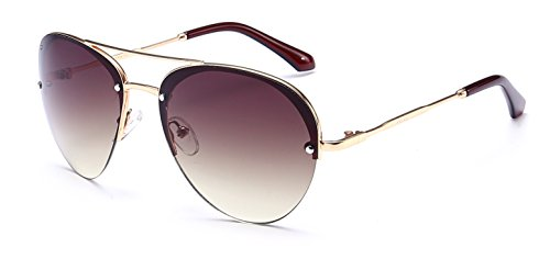 Warrior Handcrafted Designer Aviator Sunglasses
