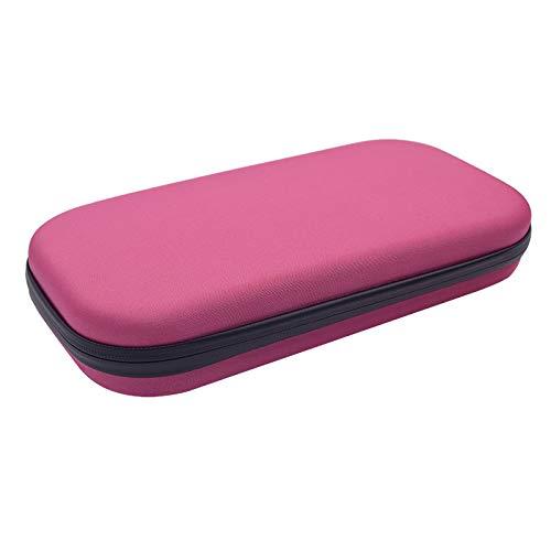 PinShang Portable Stethoscope Storage Box Carry Travel Case Bag Hard Drive Pen Medical Organizer Pink by PinShang