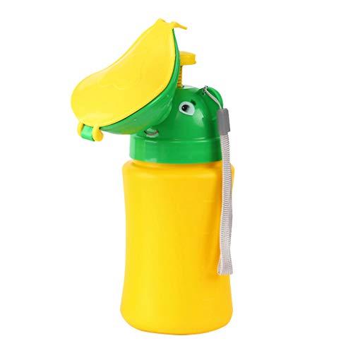 SUNBIBE Baby Boy&Girl Portable PottyUrinal Emergency Toilet for Car Travel Pee Training Green -