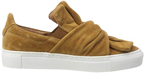 Suede Braun Trainers Loop Tan Ava Women's on Slip 255 Pavement qZS71xn