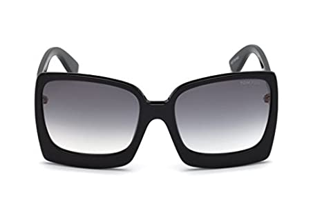 Sonnenbrillen Tom Ford KATRINE-02 FT 0617 BLACK/GREY SHADED Damenbrillen UYEqSh