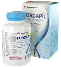 Arkopharma Forcapil Hair and Nails Growth Stimulator 180 Capsules