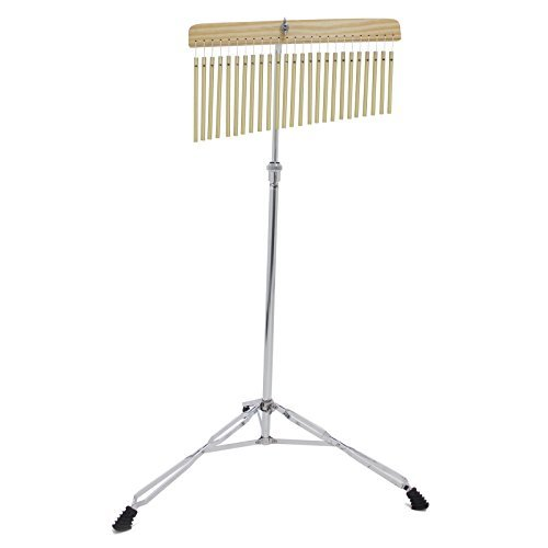 Kalos by Cecilio 25 Bar Chimes with Stand and Striker, KP_CHM-25 Cecilio Musical Instruments