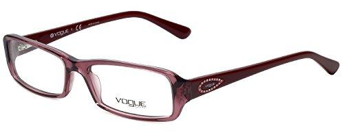 - Vogue Designer Eyeglass Frame VO2924BI-2137 in Rose 53mm