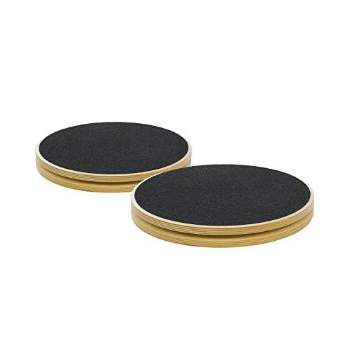 (STOTT PILATES MERRITHEW Rotational Disk, Pair (12 inch / 30.5 cm))