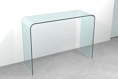 Mesa consola Cristal Puente cm 120 x 40 x h.72: Amazon.es: Hogar