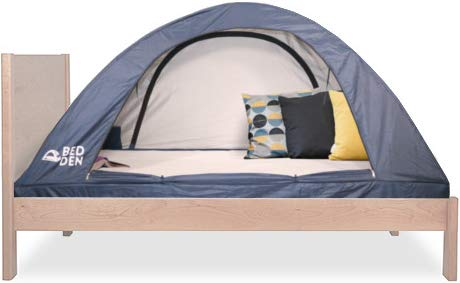 PopFS Bed Den II - Foldable Privacy Bed Tent Twin XL (79.5' L x 37.4' W x 35' H)