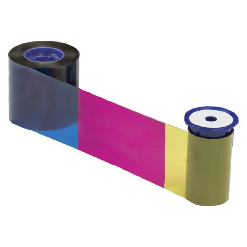 Datacard Color Ribbon & Cleaning Kit, YMCKTKT, 300 Prints (534000-006)