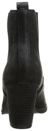Buffalo London 412-0964-2 ARNO LEATHER - Botas de cuero para mujer negro - Schwarz (BLACK 01)