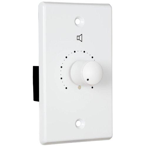 70V Speaker Attenuator Wall Plate