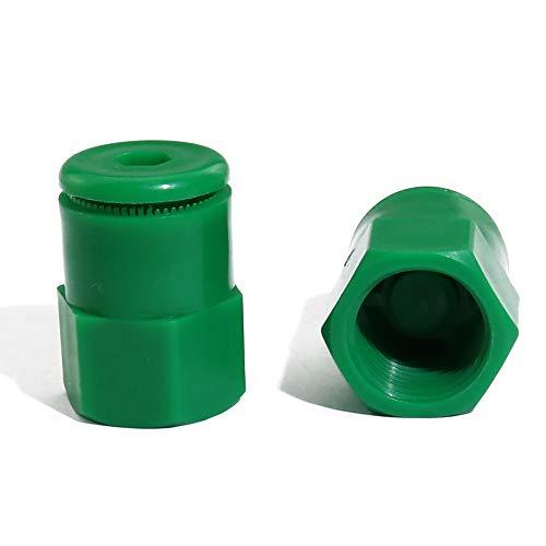 (boeray 50pcs Plastic Green Radius Adjustable Flush Spray Shrub Sprinkler Head Nozzle)