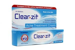 Dr. Sheffield's Clear Zit - Salicylic Acid 2% (1oz (1 Tube)) brought to you by Dr. Sheffield's