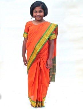 Sari - Disfraz de hindú para niña, talla única (GSA): Amazon.es ...