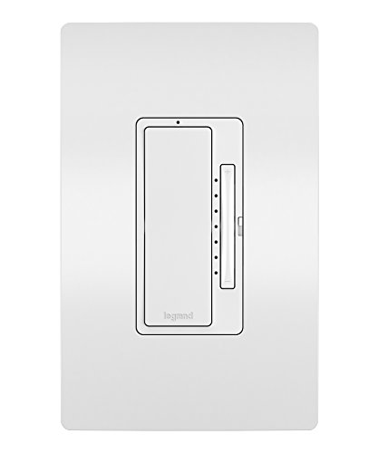 Legrand - Pass & Seymour Radiant Smart WWRL50WH Tru-Universal Wi-Fi Enabled Dimmer, ()