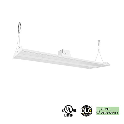 1000LED LED High Bay 150W ( 500W Equal.) 21,000Lm 4 Feet AC110-277V Daylight 5000K UL DLC Approval 5 Years Warranty Warehouse High Bay - Warehouse Warranty