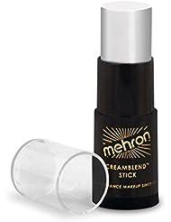 Mehron Makeup CreamBlend Stick, WHITE - .75oz