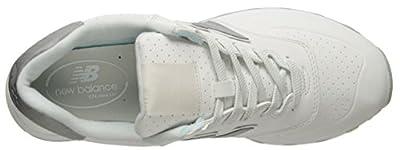 New Balance Men's 574 Lux Rep Lifestyle Fashion Sneaker, Nimbus Cloud/White, 10 D US