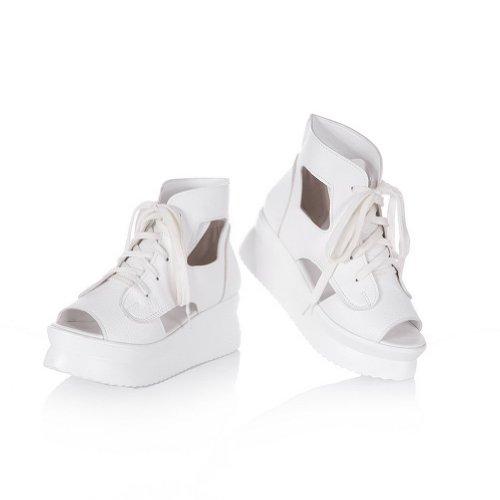 Chaussures à lacets BalaMasa blanches  42.5 EU NBYIq